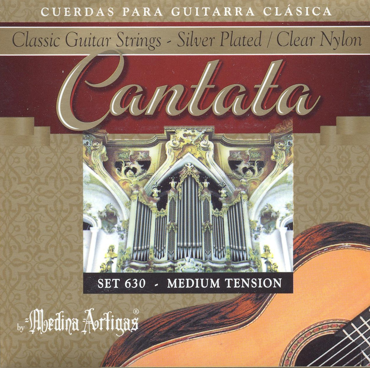 Medina Artigas 630 Cantata Konzertgitarre, medium